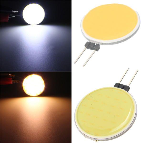 DRU US$2.09 G4 4.5W 30COB LED Warm White/White Light Bulb Lamp DC 12V