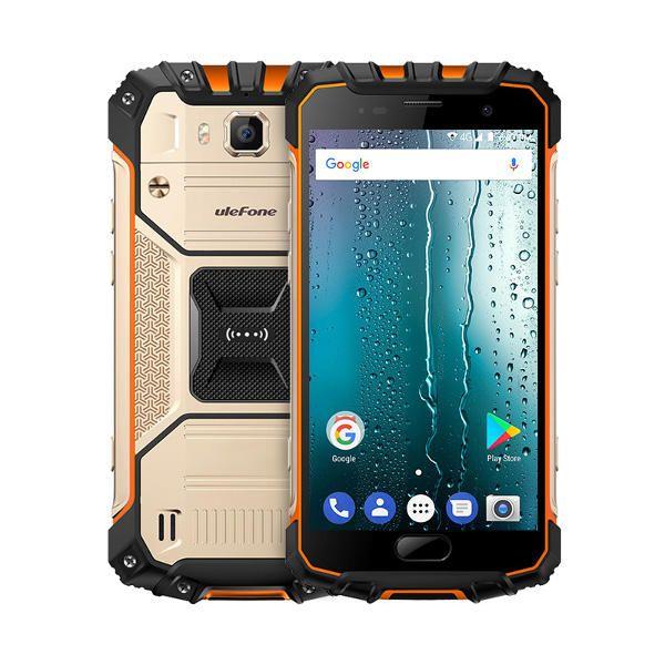 ZHH US$173.36 Ulefone Armor 2S 5.0 Inch NFC 4700mAh IP68 Waterproof MT6737T Quad Core 4G Smartphone