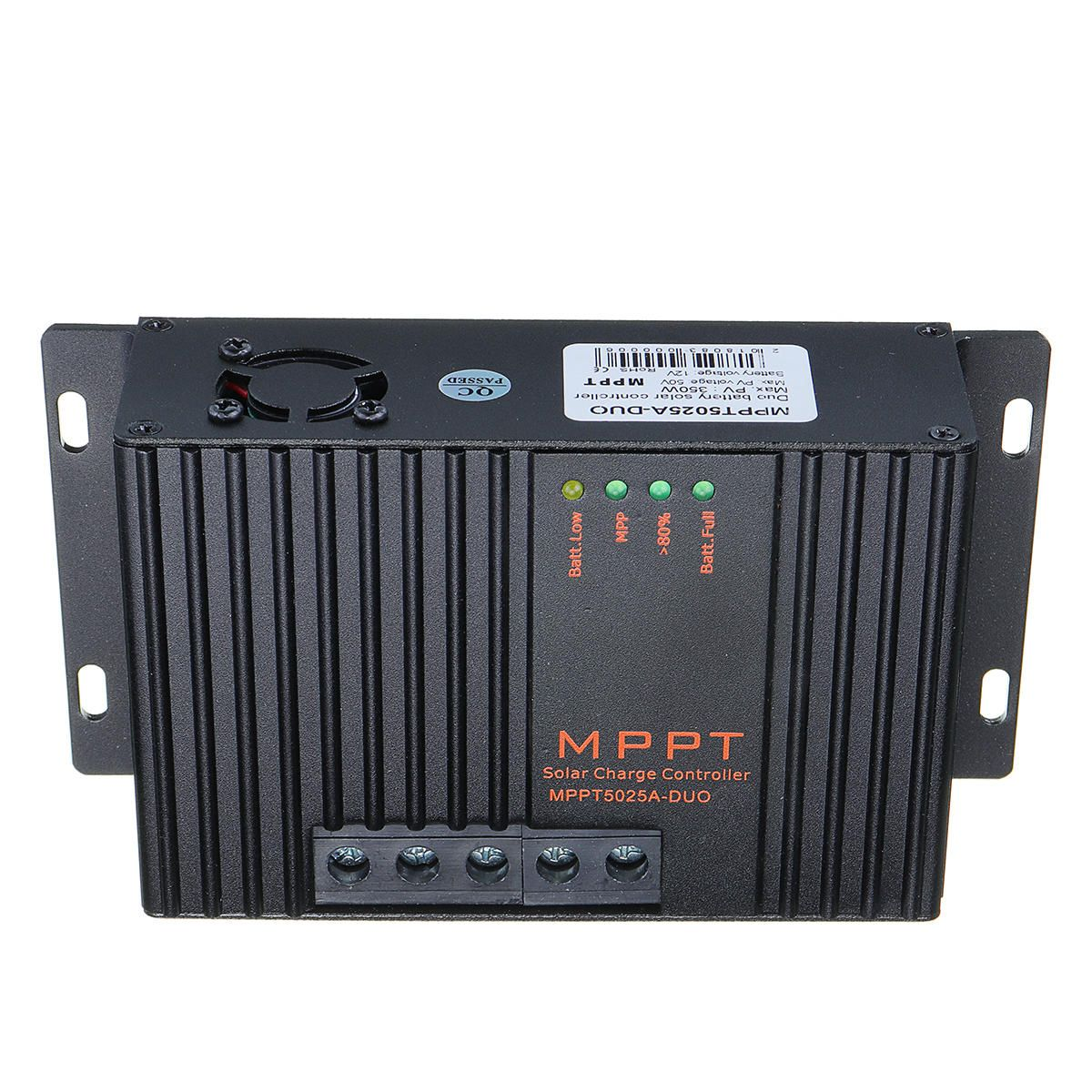 GMR US$55.65 MPPT5025A-DUO MPPT 25A 12V Solar Charge Controller With LCD Solar Regulator For Solar Panel Charger