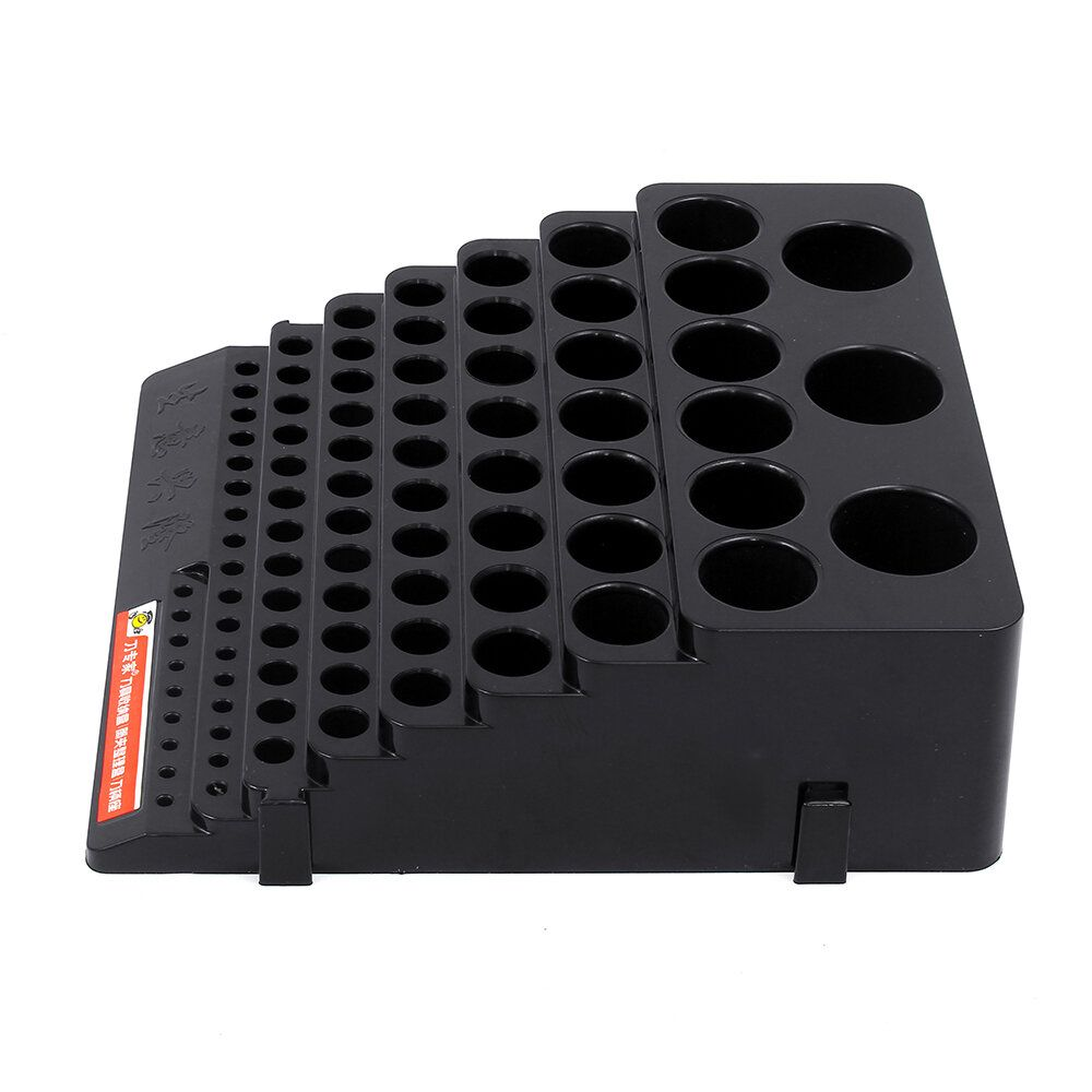 PRR US$9.96 70x220x200mm Plastic Milling Cutter Storage Box Tap Reamer Turning Tool Holder Drill Bits Storage CNC Lathe Tool