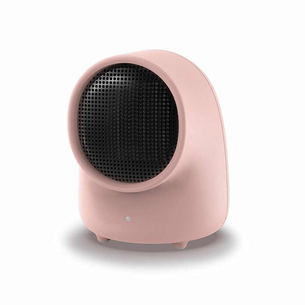WXJ US$32.38 SOTHING Mini Warmbaby Fan Heater Desktop Warm Electronic Heater Cute Small Portable Warmer Machine for Winter Home Office Heater