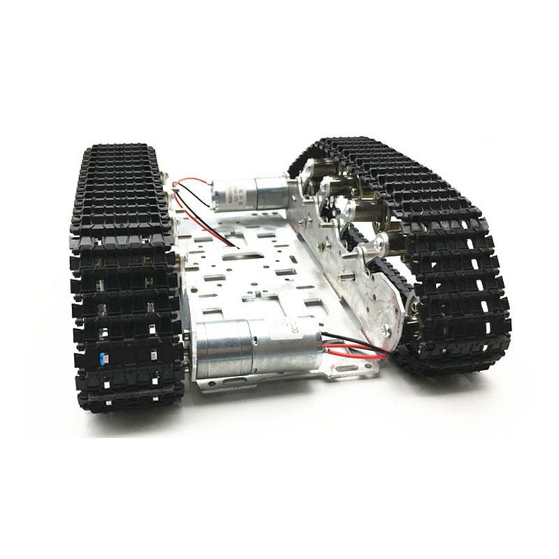 VLU US$80.08 DIY Smart RC Robot Tank Tracked Car Chassis Kit with Crawler