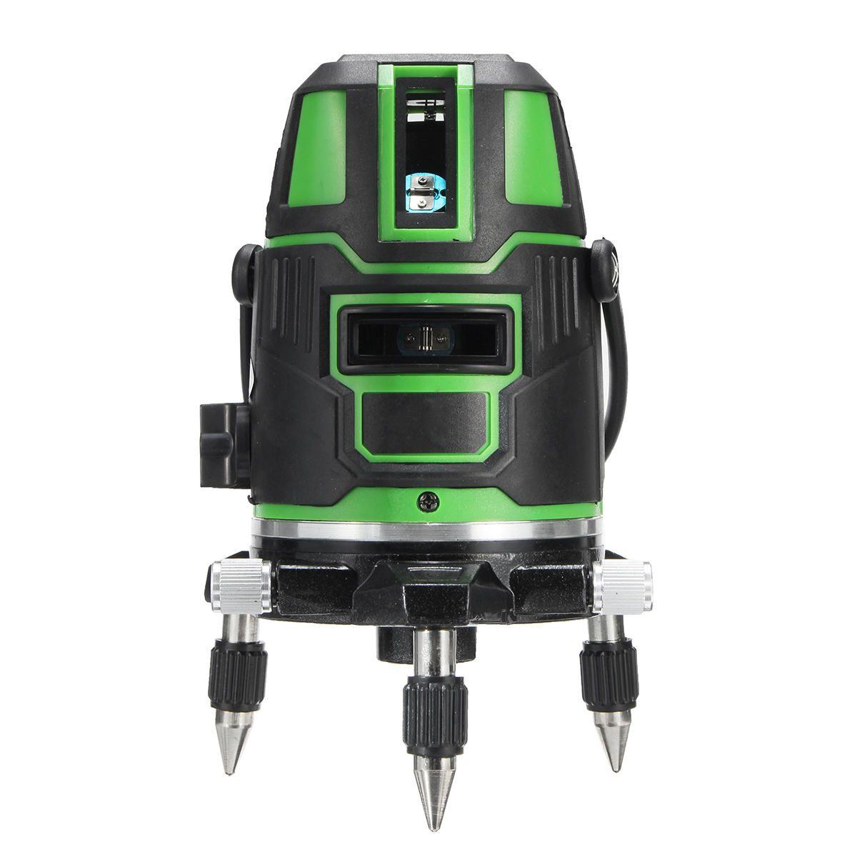 DXP US$72.73 100-240V 635nm Green Light 5 Line Laser Level 360° Rotary Laser Line