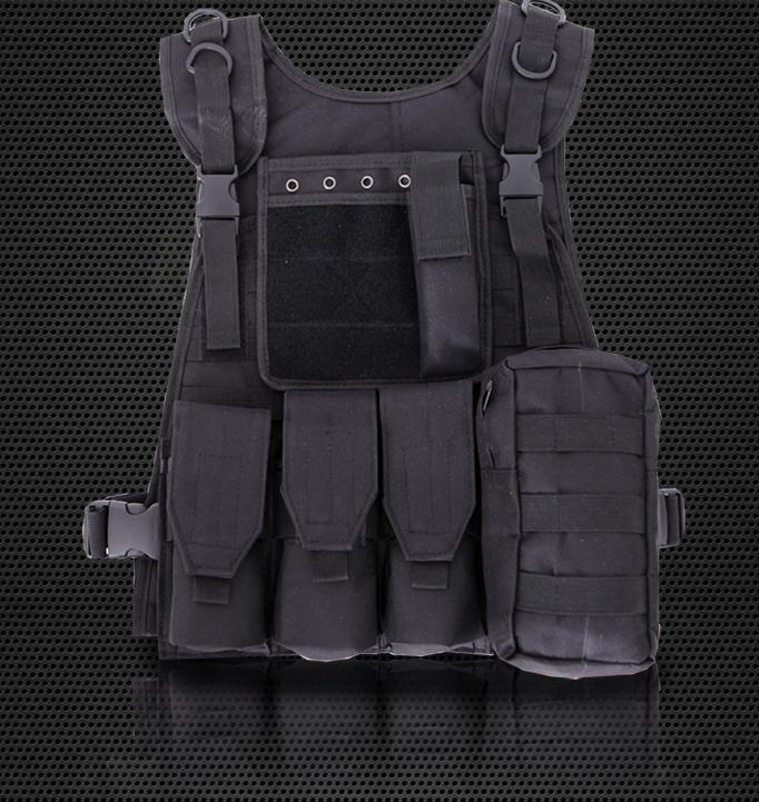 YVY US$37.54 Amphibious Forces Camouflage Combat Vest Multi Pockets Fishing Tactical CS Outdoor