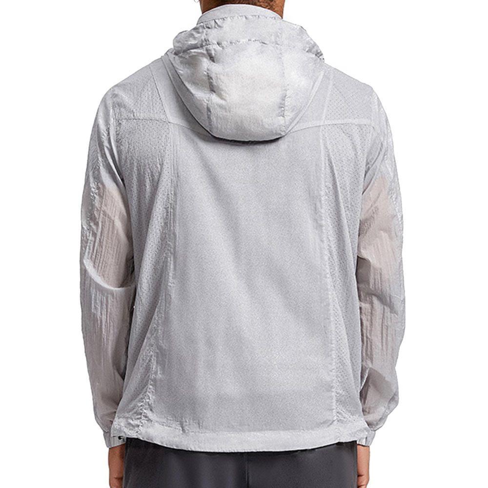 VVJ US$52.29 Summer Outdoor Sunscreen Lightweight Breathable Waterproof Portable Skin Jacket