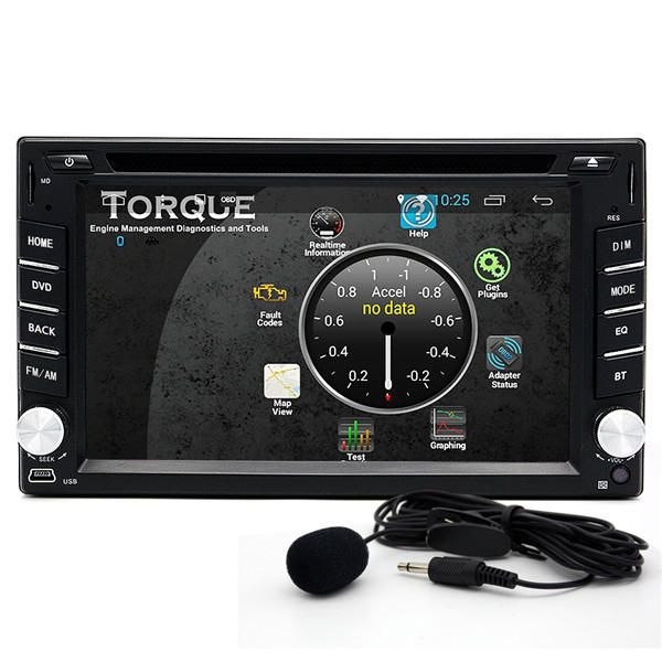 OUX US$305.16 Junsun 2 din bluetooth Wifi HD Stereo Car DVD Player 3D GPS Navigator Touch Screen Free Map Update