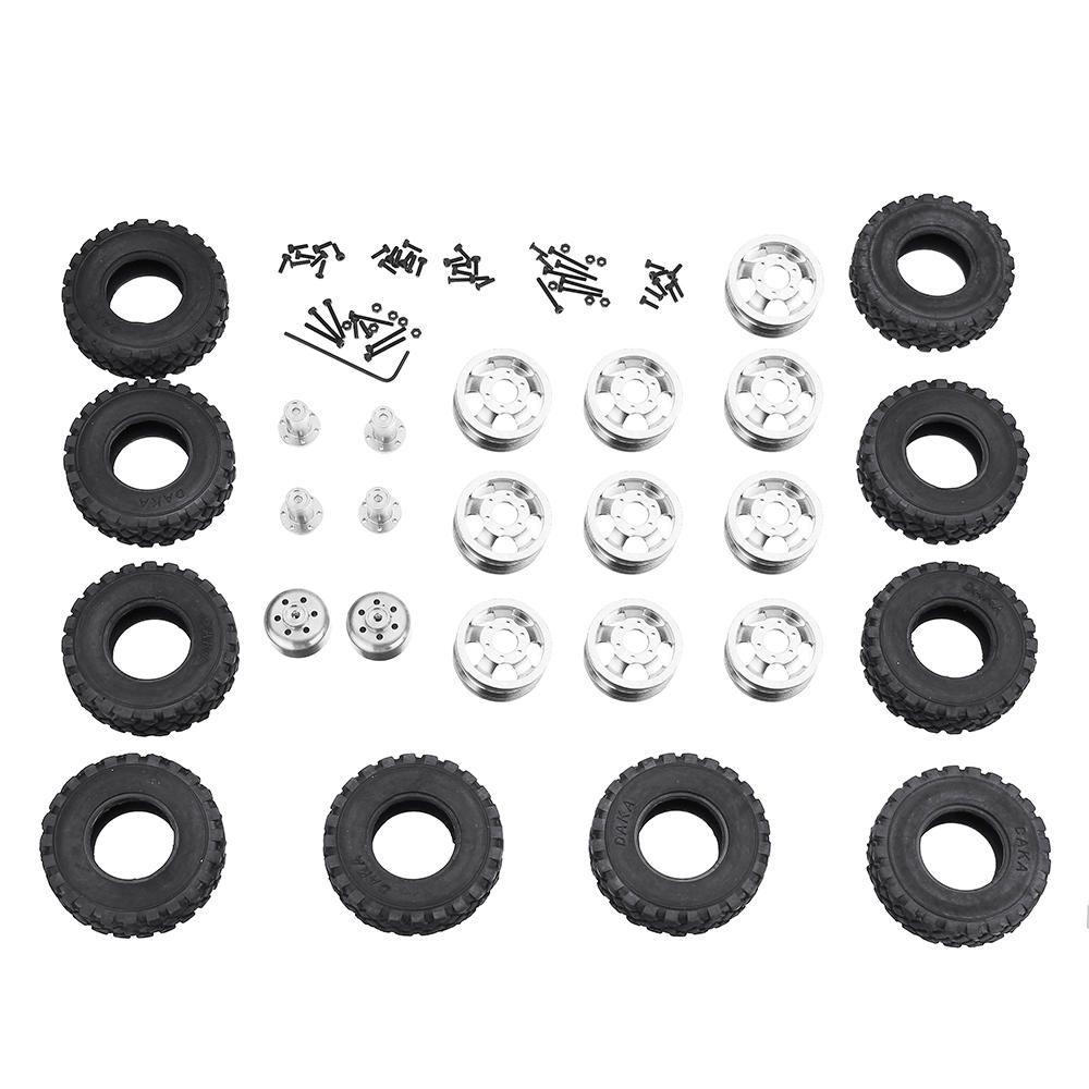 IHB US$50.48 WPL Metal RC Car Wheel Hub For 1/16 WPL 6WD B16 B36 JJRC Q60 RC Car