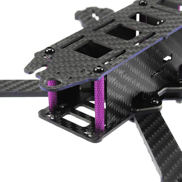 HQB US$37.84 Eachine Wizard X220S 220mm FPV Racing X Frame RC Drone 4.0mm Frame Arms Carbon Fiber