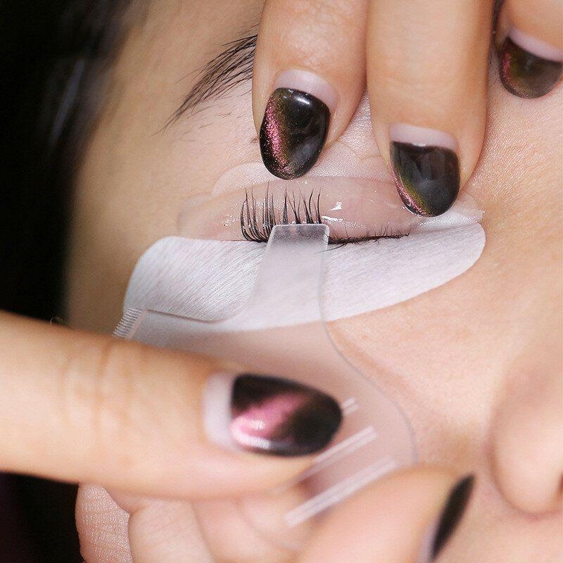 TOM US$6.50 10pcs Y-shaped Eyelashes Comb Mini Disposable Plastic Transparent Mascara Makeup Grafting Tools