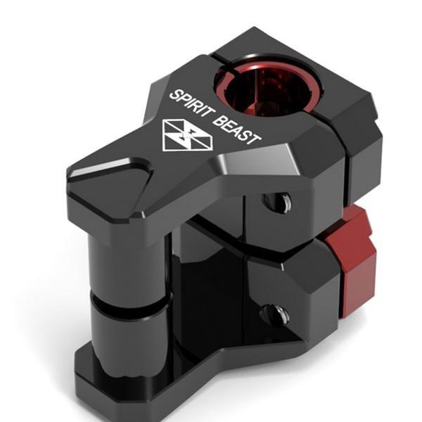 LZB US$34.60 Pair22/28mm 0.87/1.1in Motocross Dirt Bike Motorcycle Handlebar Riser Heightening Device Heightened