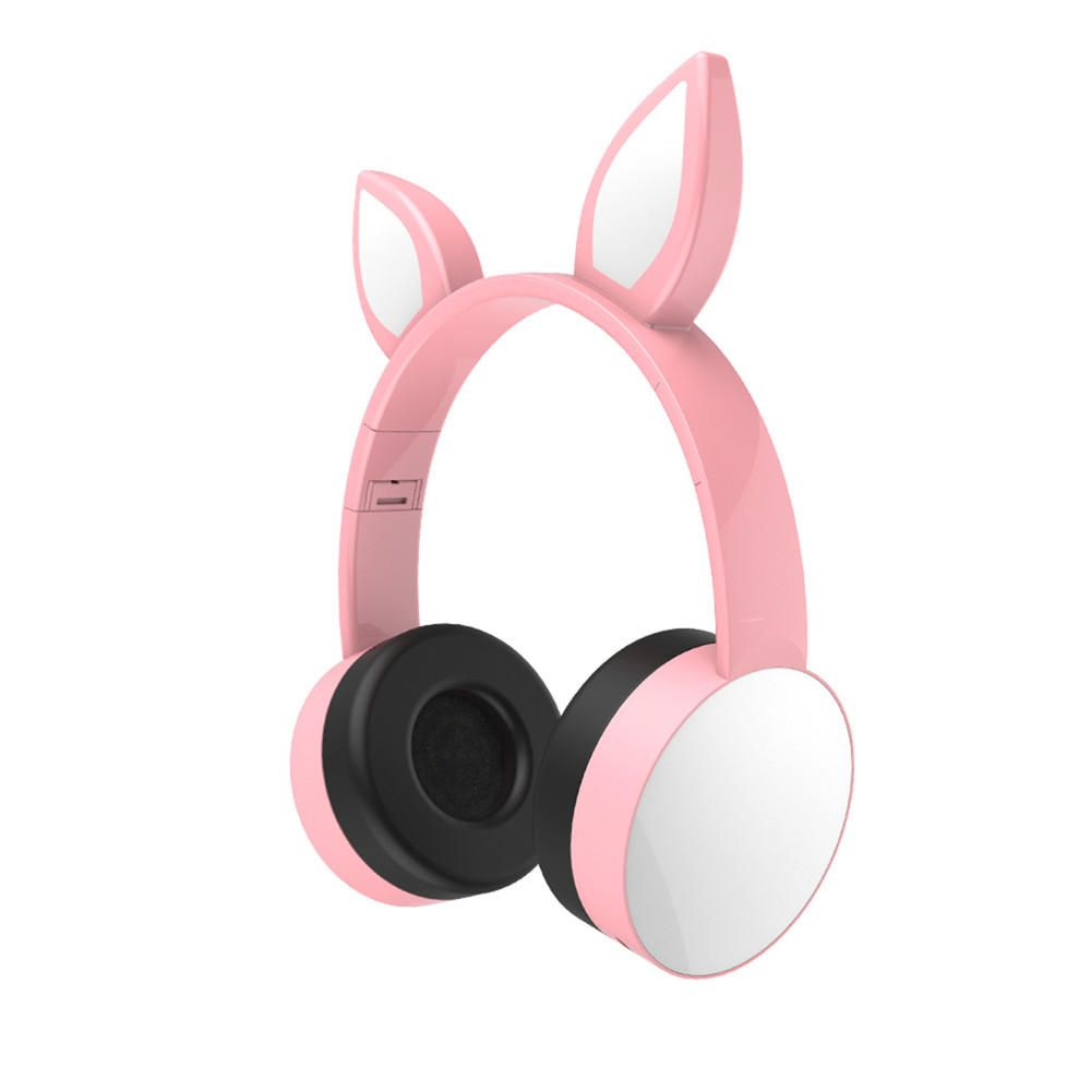 ALA US$30.15 7 Colors bluetooth Cat Ear LED Light Headphone Headset Earphone For Tablet Cellphone