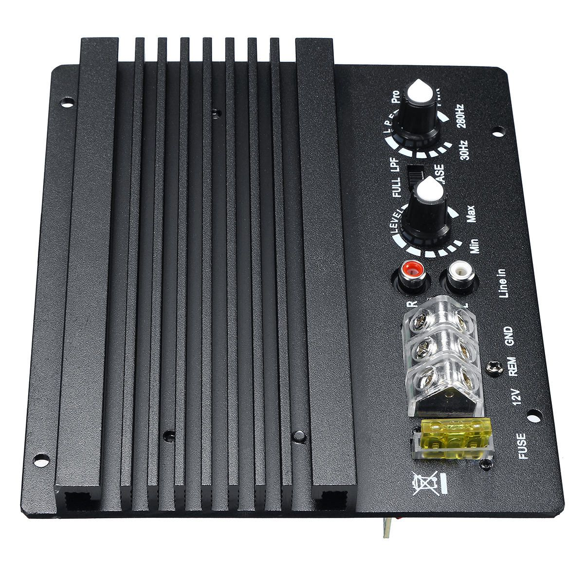 OCL US$28.99 Power Amplifier Board Powerful Bass Subwoofer Amp Amplify Module 12V 300W for Car Audio Stereo