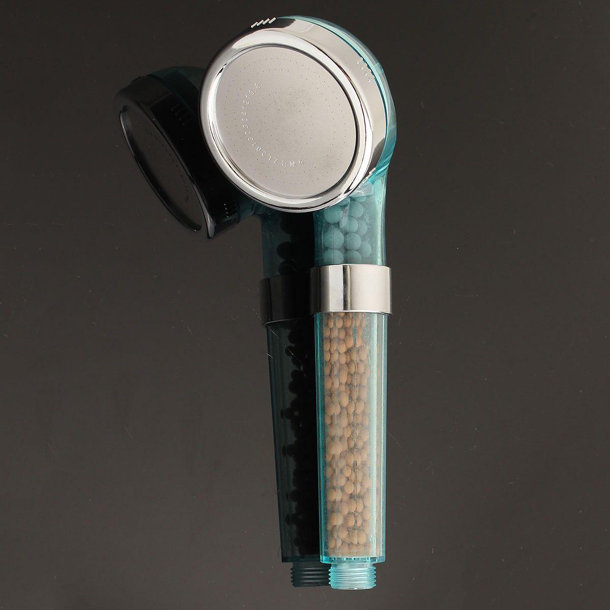 TAO US$10.18~12.18 Handheld Negative Ion SPA Pressurize Shower Head Bathroom Healthy Water Saving Spray Nozzle
