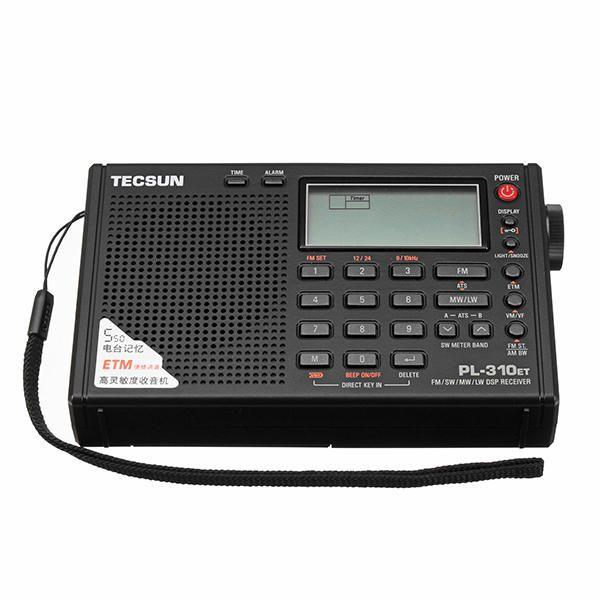SYN US$54.28 Tecsun PL-310ET Full Band Digital Demodulator FM AM SW LW Stereo Radio Receiver