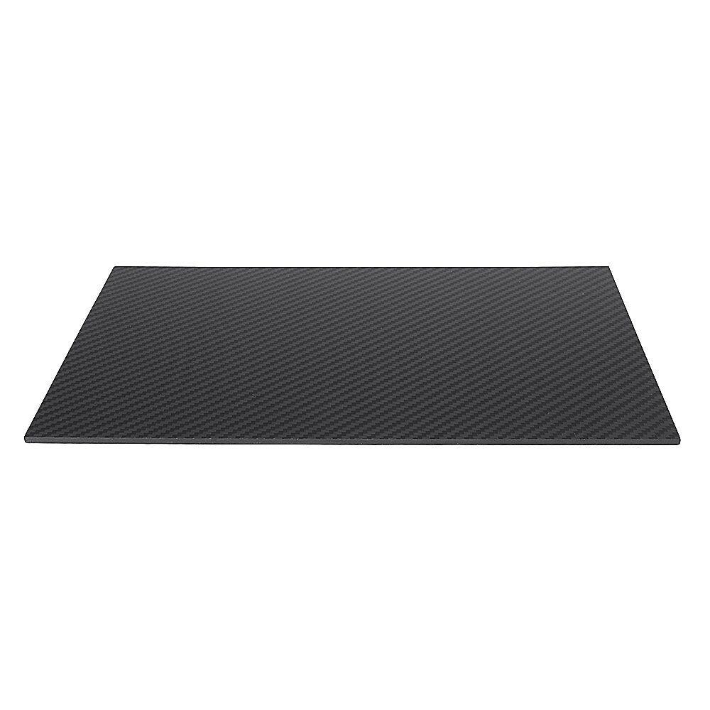 KOT US$25.43~87.43 300X500mm 3K Carbon Fiber Board Carbon Fiber Plate Plain Weave Matte Panel Sheet 0.5-5mm Thickness