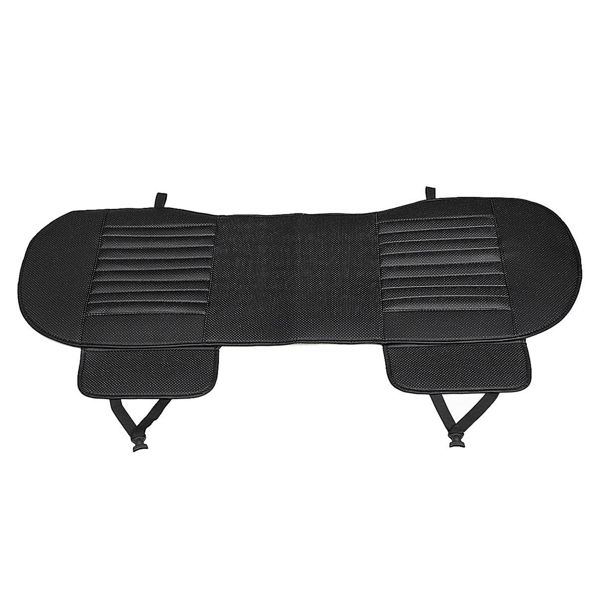 AZL US$28.60 138X49cm PU Leather Car Rear Seat Covers Universal Seat Protector Seat Cushion Pad Mat