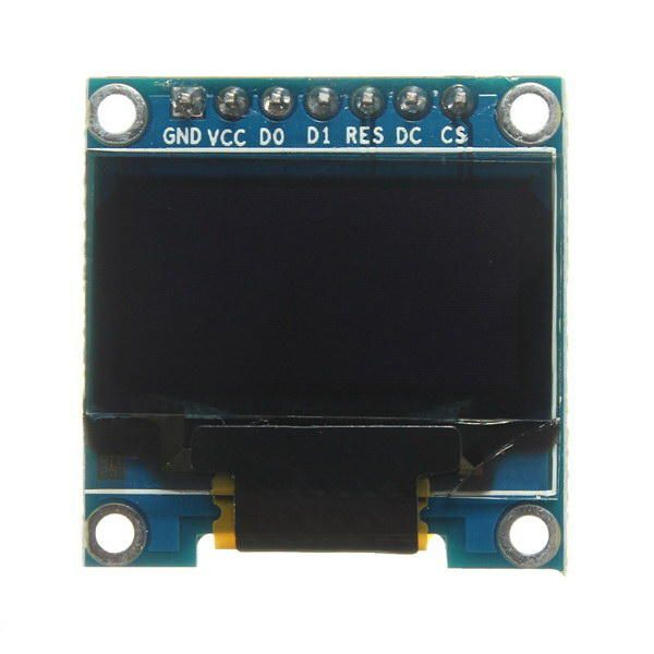 IDI US$27.64 5Pcs 7 Pin 0.96 Inch IIC/SPI Serial 128x64 White OLED Display Module Geekcreit for Arduino - products that work with official Arduino boards