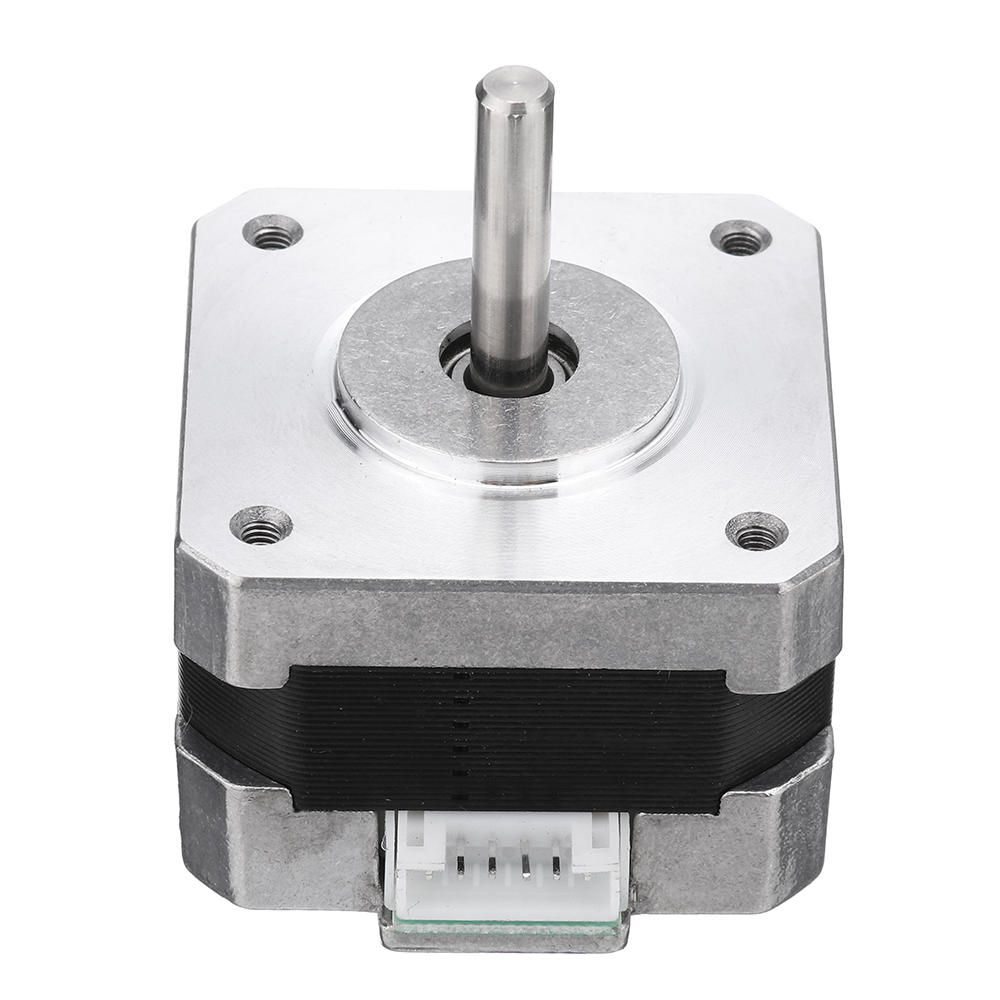 YJI US$8.67 HANPOSE 17HS2408 28mm Nema 17 Stepper Motor 42 Motor 42BYGH 0.6A 12N.cm 4-lead For CNC Laser 3D Printer Motor