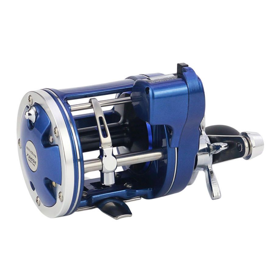 NVO US$46.69 ZANLURE ACL 3.8:1 12BB Left/Right Hand Fishing Reel High Speed Counter Trolling Sea Fishing Wheel