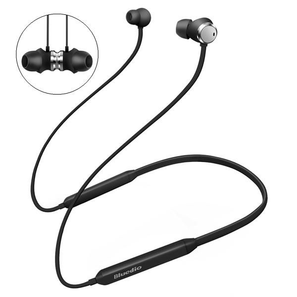 VNP US$27.88 Bluedio TN Active Noise Cancelling Magnetic HiFi bluetooth Earphone Headphone With Dual Microphone
