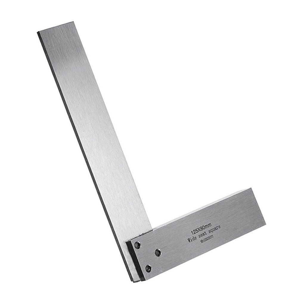 WOI US$4.06~24.06 Machinist Square 90º Right Angle Engineer Set Precision Ground Steel Hardened Angle Ruler
