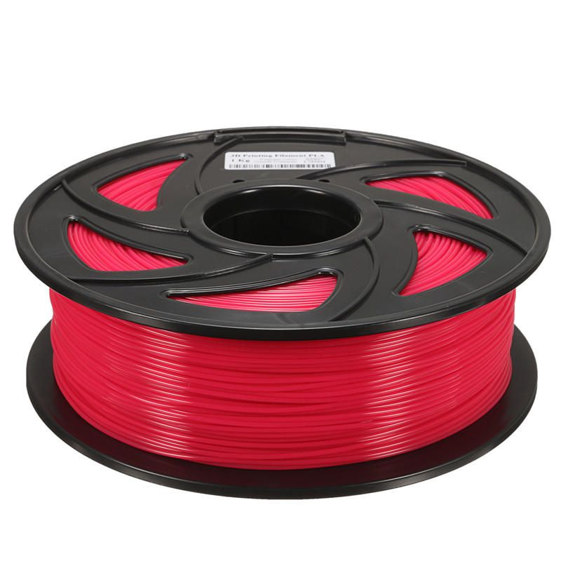 CQW US$44.77 1.75mm 1KG PLA Transparent Red/Blue/Green/Yellow Filament For 3D Printer RepRap