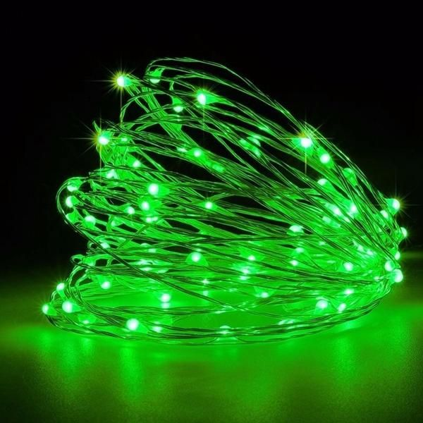 NXU US$4.27 5M 50leds USB Silver Wire String Fairy Light for Wedding Christmas Party Decor