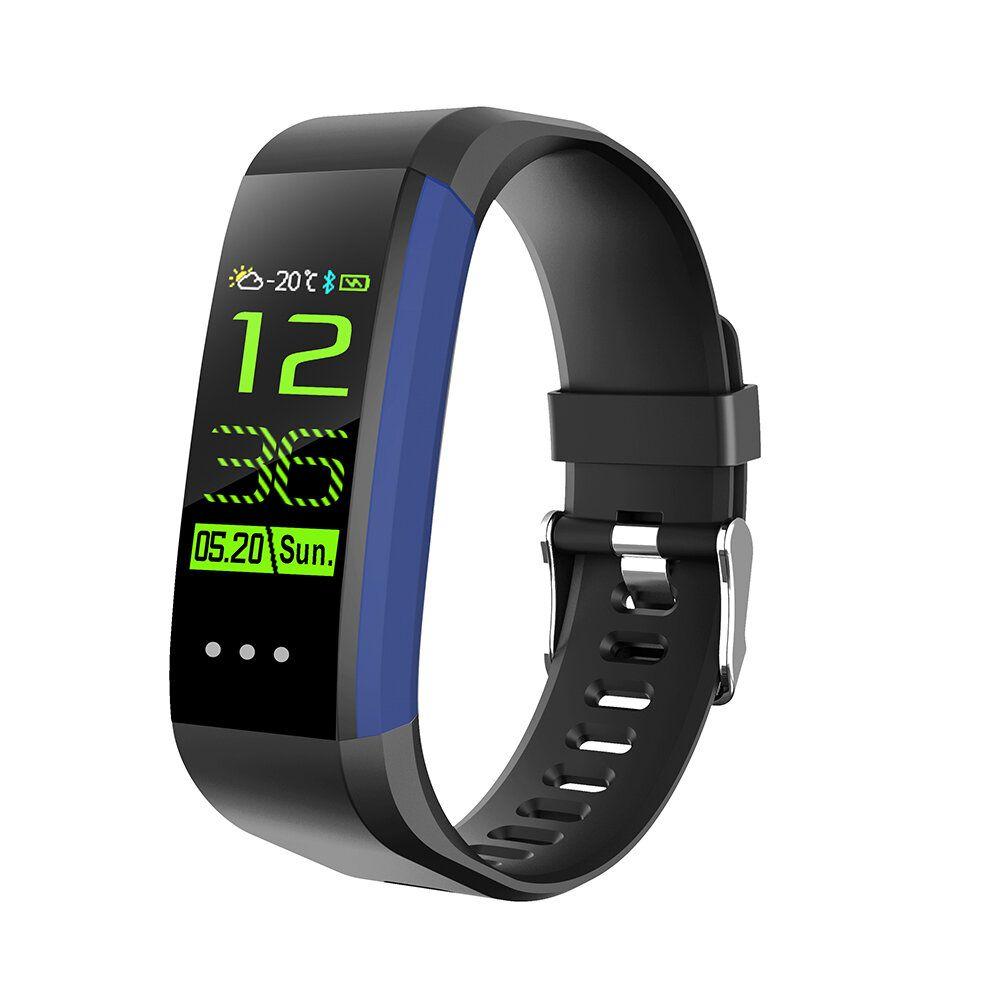 WIL US$19.58 CK16 Smart Bracelet HR Blood Pressure Monitor Weather Report Alarm IP67 Waterproof Sport Bracelet