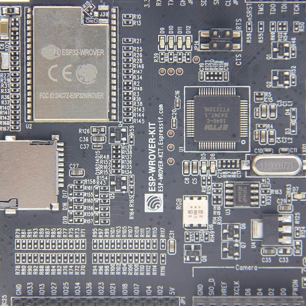 DJV US$63.81 Geekworm ESP-WROVER-KIT ESP32 Development Board With WiFi Wireless bluetooth And 3.2 Inch LCD