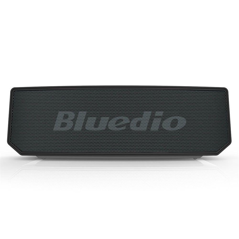 CFW US$73.02 Bluedio BS-6 Smart Cloud Wireless bluetooth Speaker 3 Drviers Voice Control Bass Stereo Soundbar