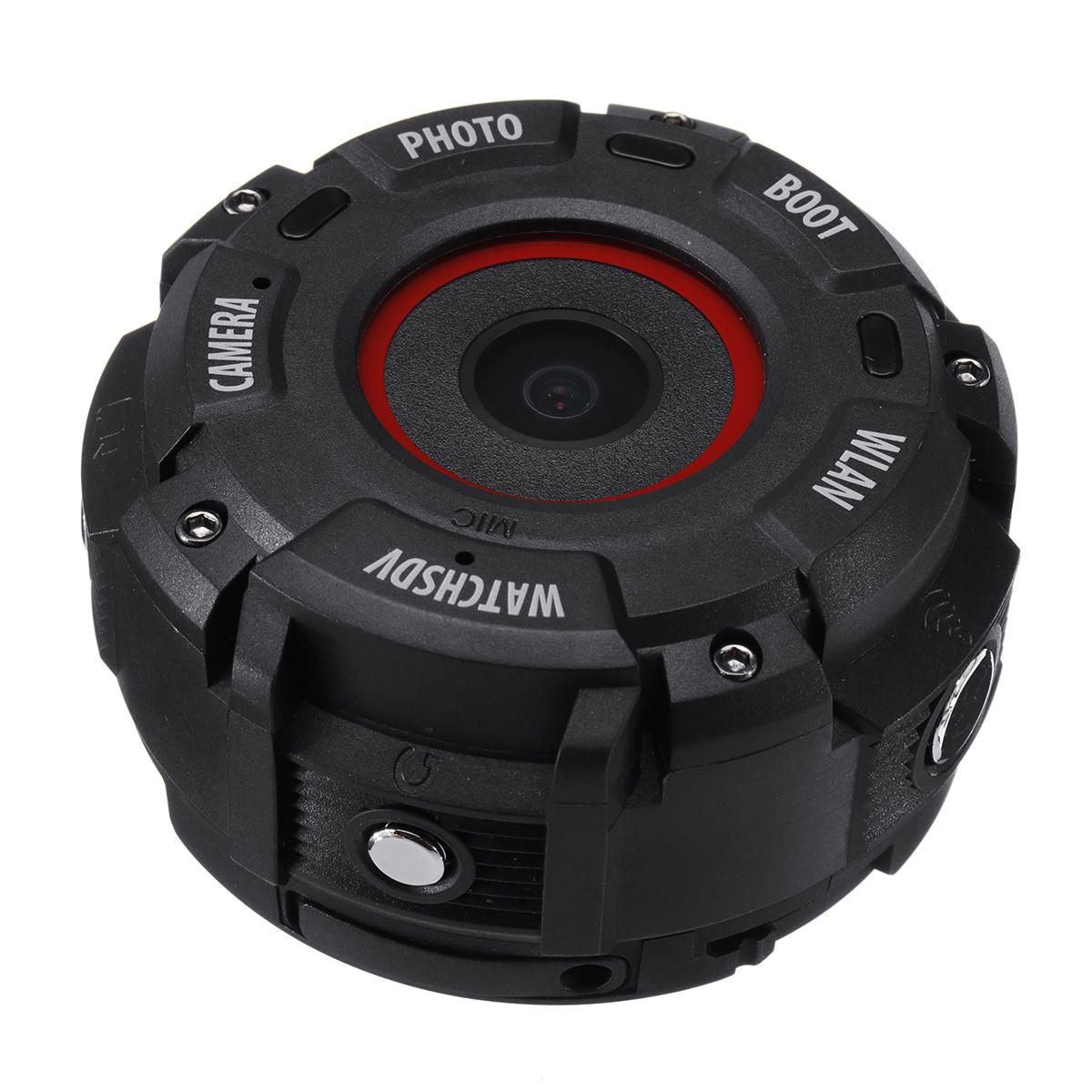 JEC US$80.84 WiFi HD 1080P Sport Watch Camera Swim Diving DVR Video Recorder 30M Waterproof