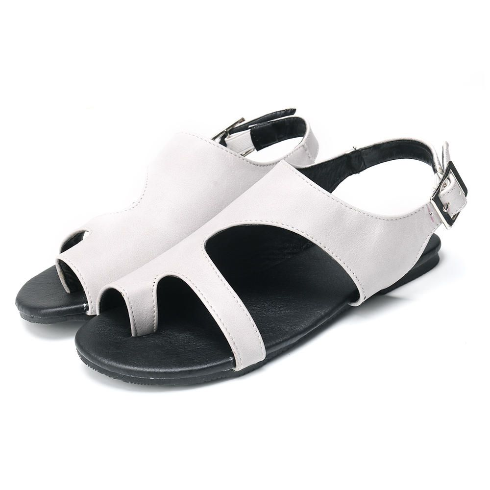 YJH US$30.28 Large Size Women Casual Comfortable Clip On Sandals