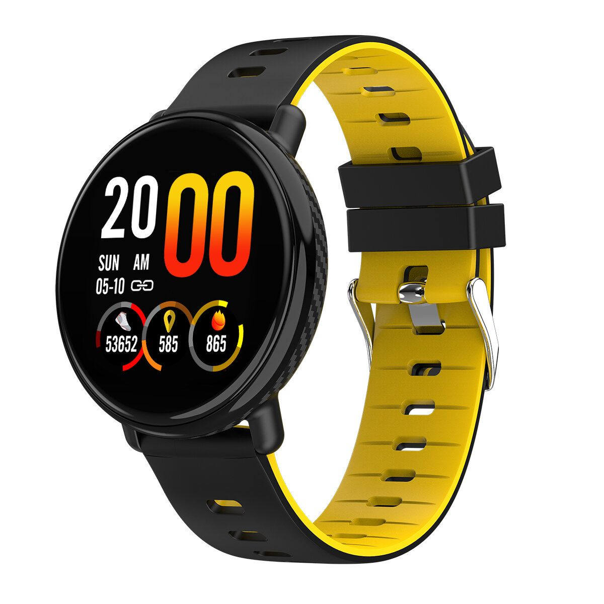IGD US$30.28 Bakeey K1 IPS Full Touch Color Screen Wristband Multi Exercise Modes Heart Rate Monitor IP68 Smart Watch