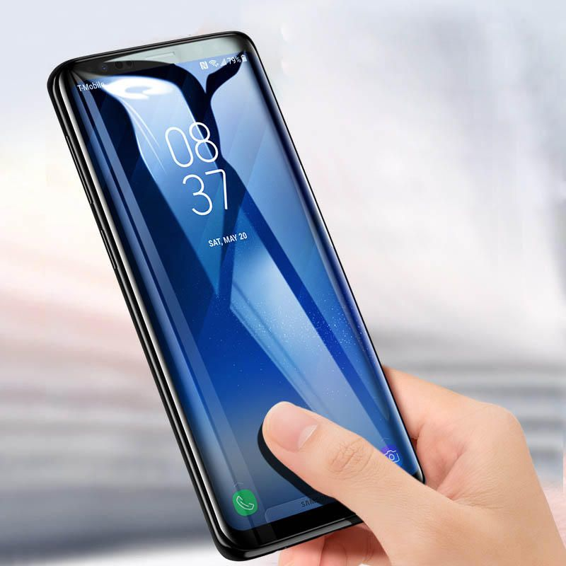OZO US$10.08 Bakeey 9D Curved Edge Full Glue Tempered Glass Screen Protector For Samsung Galaxy Note 9
