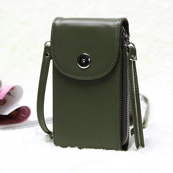 ZXX US$25.68 Vintage Mini Hasp Shoulder Bags Girl Casual Crossbody Bags 5.5'' Phone Case Bags For Iphone Huawei