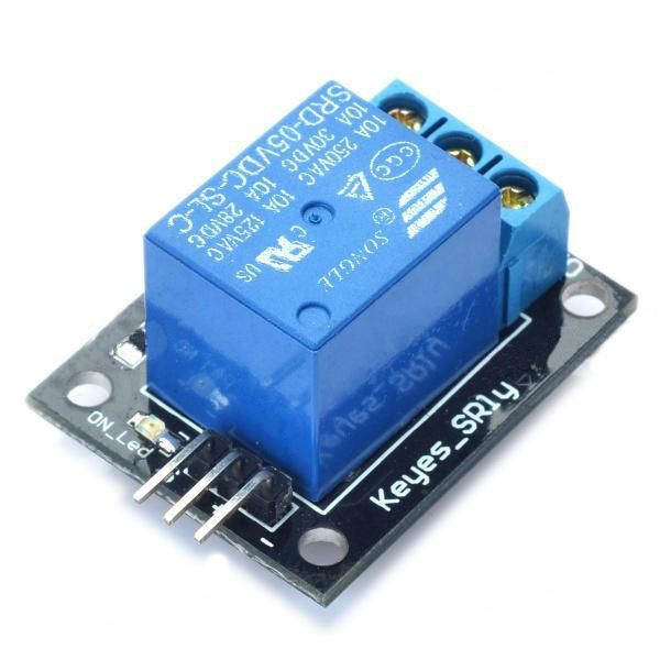 JWS US$2.70 3Pcs 5V Relay 5-12V TTL Signal 1 Channel Module High Level Expansion Board Geekcreit for Arduino - products that work with official Arduino boards