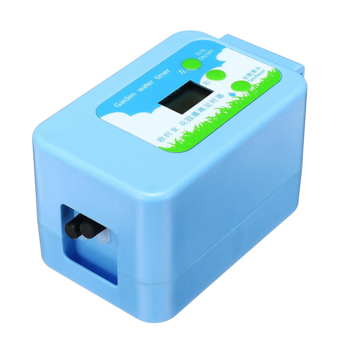 DMQ US$39.37 Garden DIY Micro Drip Auto Irrigation Timer Self Plants Flowers Water Control System with 10M Hose