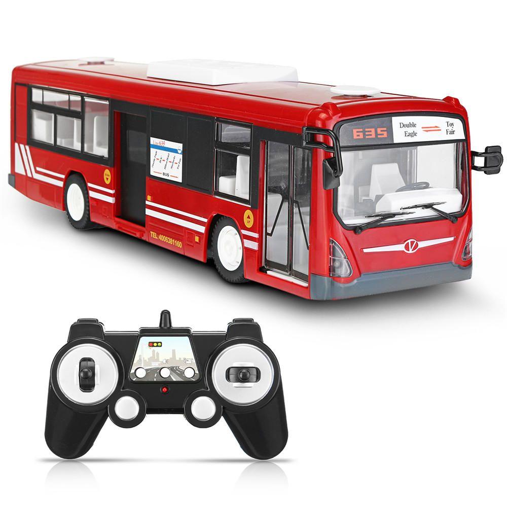 KSN US$43.66 1PC Double Eagle E635-001 1/20 2.4G Wireless Simulation Rc Bus Sport Car W/ Sound Light Model