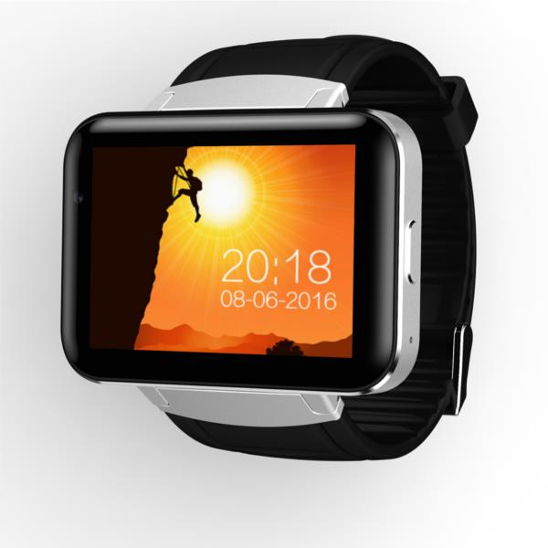 MZO US$97.97 DM98 3G Camera Smart Watch Phone 320*240HD Resolution 2.2Inch Large Screen 3G WIFI GPS Support For Android