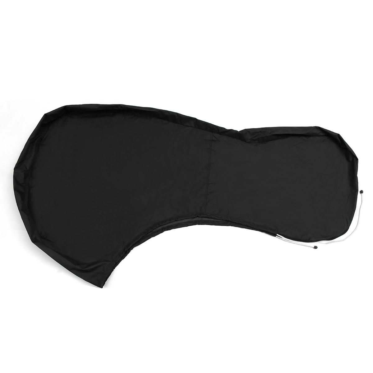TES US$38.22 600D Black Boat Full Outboard Engine Cover Fit For 100 To 150HP Motor Waterproof