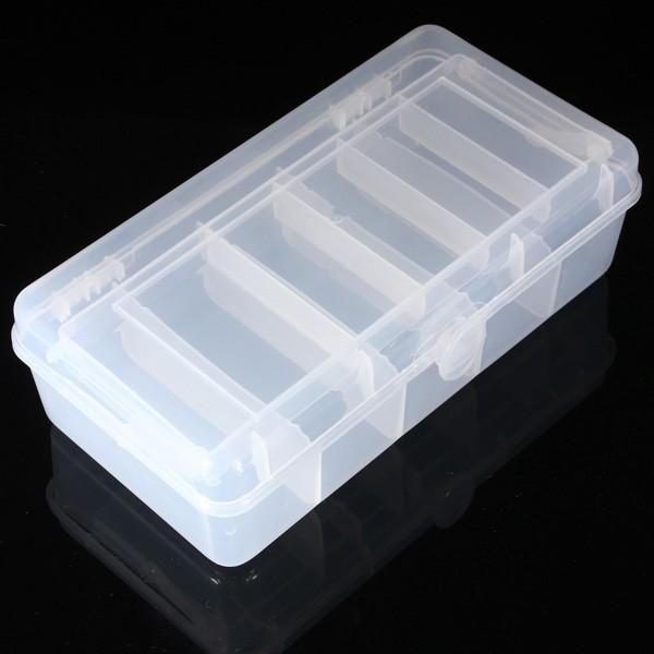 MAH US$6.39 Two layer Tool Spoon Plastic Tackle Box Tool Organizers