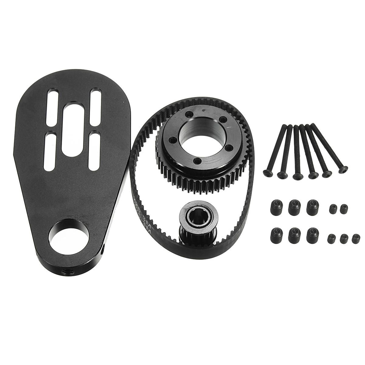 WWP US$21.08 DIY Parts Kit Pulleys And Motor Mount For 72/70MM Wheels  Electric Scooter
