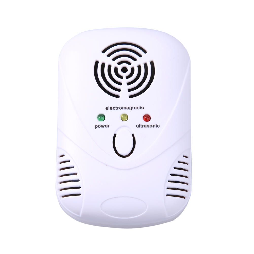 PWG US$16.07 Electronic Ultrasonic Mouse Killer Mouse Cockroach Trap Mosquito Repeller Insect Rats Spiders Control US/EU Plug 110-230V/6W