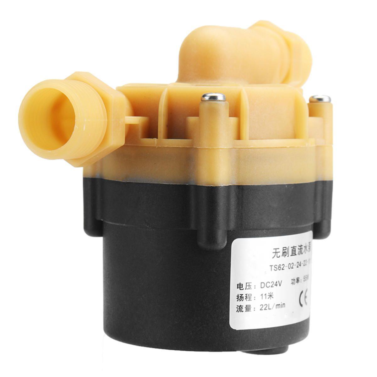 BXP US$40.42 DC 24V 55W Hot Water Pump Mini Booster Pump 22L/min 11M For Chiller Machine