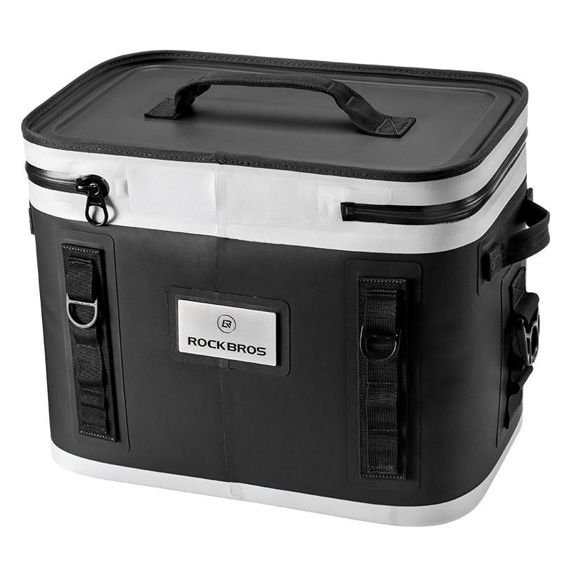 MHX US$117.14 ROCKBROS 20L Food Storage Ice Bag Outdoor Picnic Bag Car Refrigerator Bag Camping Keep Cold 65hours Above
