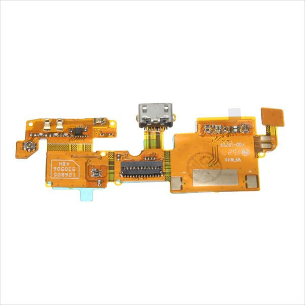VSU US$7.00 USB Charging Charger Port Connector Flex Cable Ribbon Replacement With Tool For ZTE Blade V6