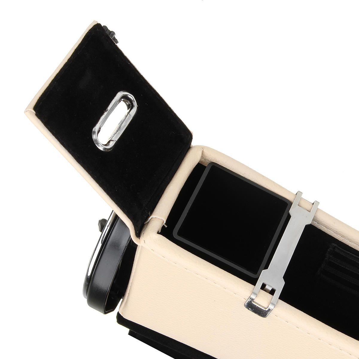 ILL US$33.40 Car Seat Catcher Gap Filler Coin Collector Cup Holder Storage Box Dual USB Charging Port
