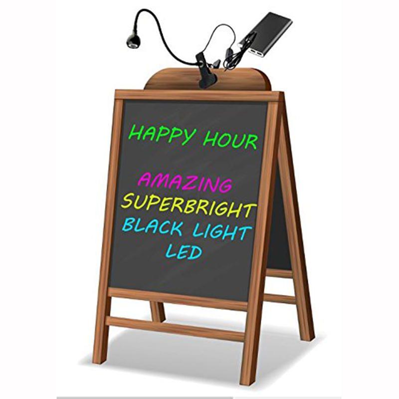 XKZ US$16.53 5V USB UV Desk Lamp LED Backlight Lamp Posters Blacklight Lamp