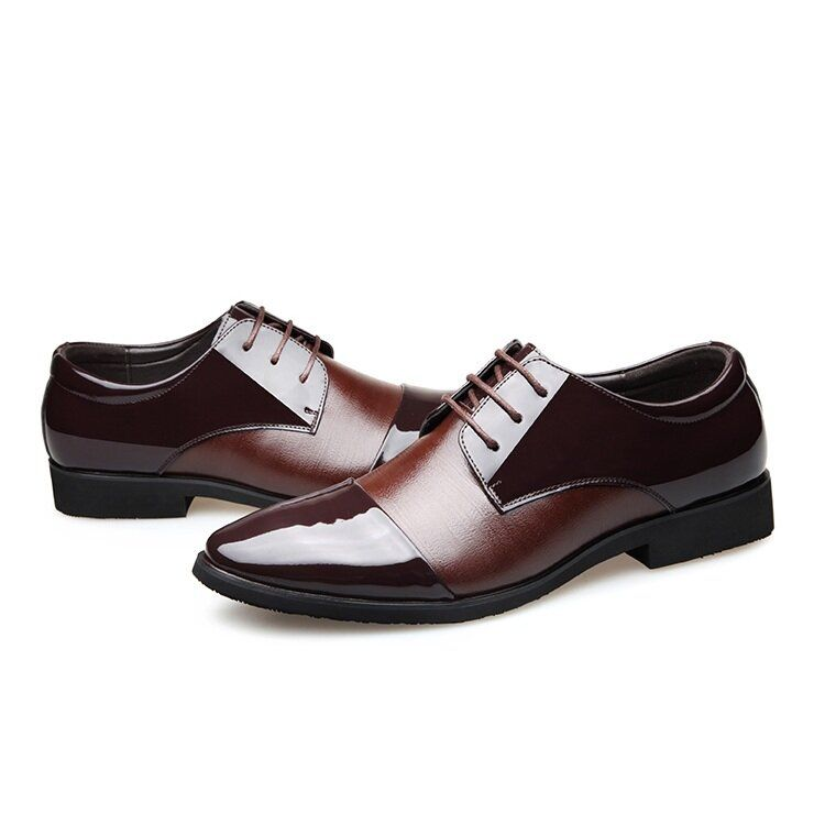 DZT US$60.12 Men Soft Leather Pointed Toe Business Oxford Formal Shoes