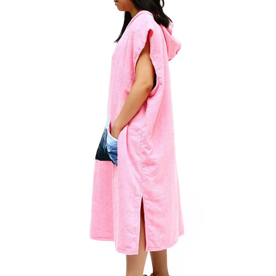 HQL US$30.59 Honana Microfiber Cloak Costume Hooded Toweling Bathrobe Beach Towel Lazy Bathrobe Cloak